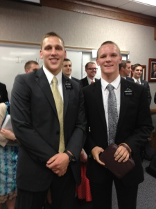 Elder Cordon will be trained by Elder Newbold.  They will serve in the Deep Creek Ward in Lake City, Fl.