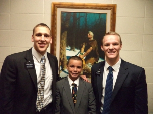 He just received the Priesthood